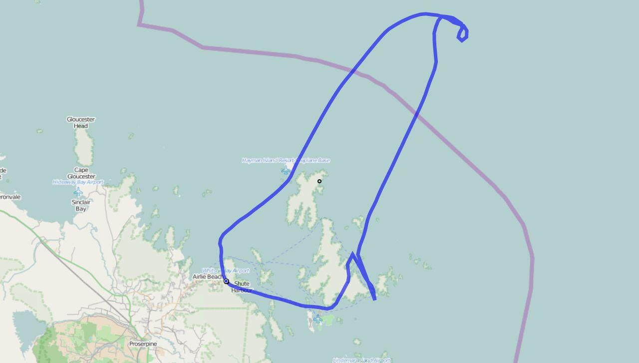 Rundflug GPS Track