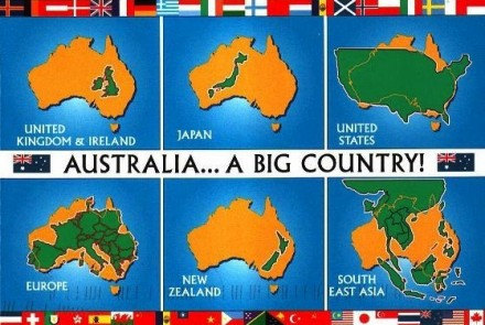 Vergleich Europa Australien