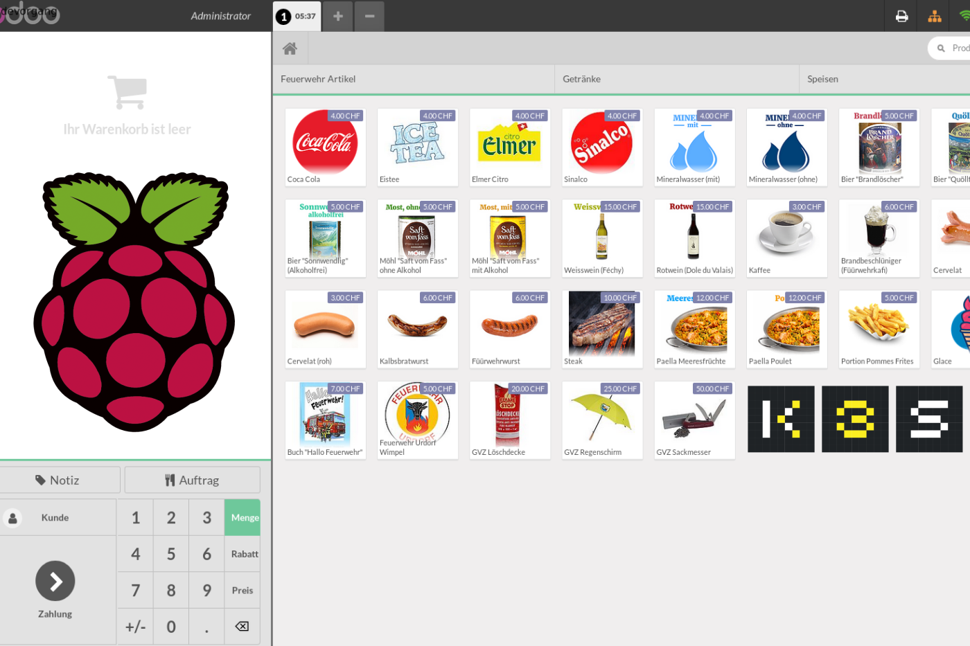 Open Source Point of Sales (PoS) with Odoo