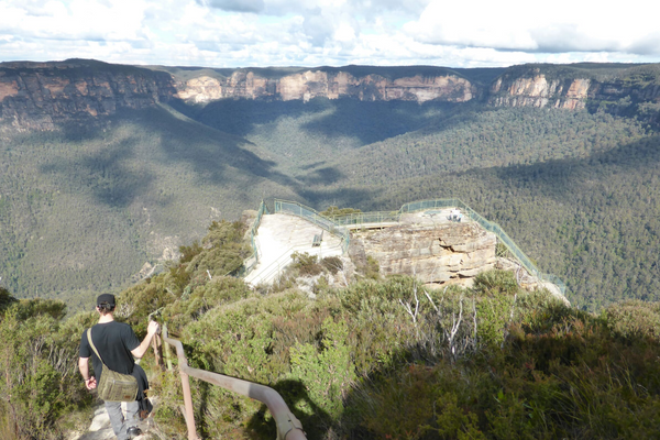 Blue Mountains, Canberra, Wodonga und Melbourne