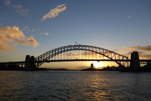 Sydney - Reisestart in Australien